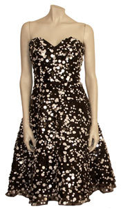 Cache Luxe Strapless Dress with Paillettes