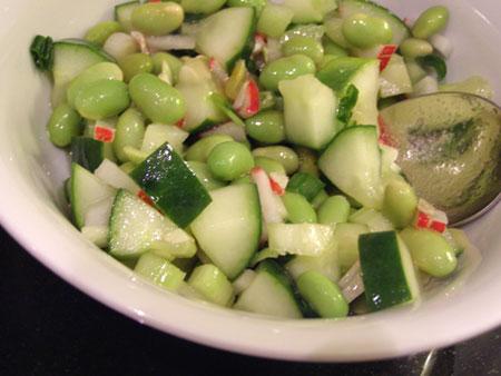 PopBetty - Edamame Salad