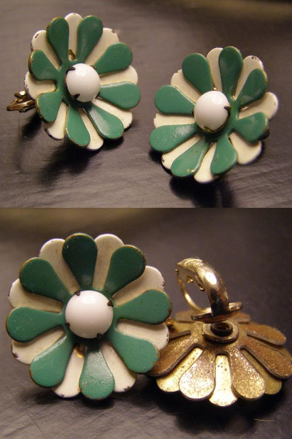 mod clip on earrings