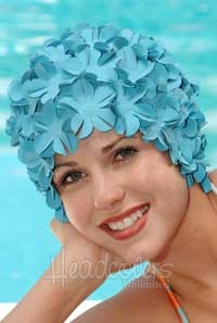 Headcovers petal swim cap