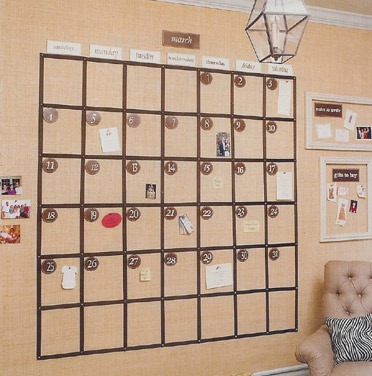 Cottage Living DIY Wall Calendar