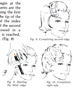 Vintage Finger Waves Instructions