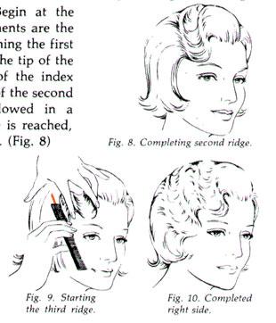 Vintage Finger Waves Instructions