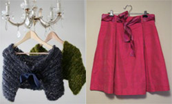 DIY Ideas: Knit Shrugs and Pleated Skirts