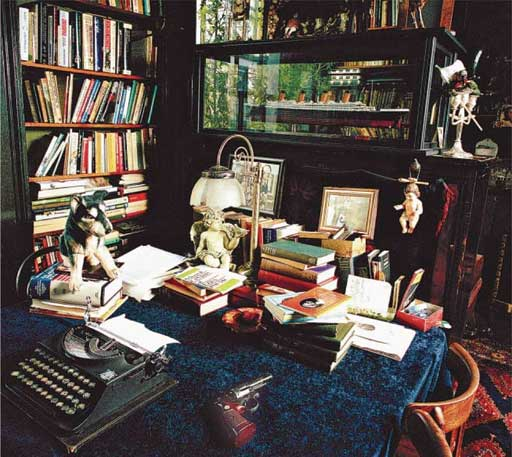 Beryl Bainbridge Workspace, from The Guardian