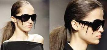Anna Ter Harr Dripping Tar Sunglasses