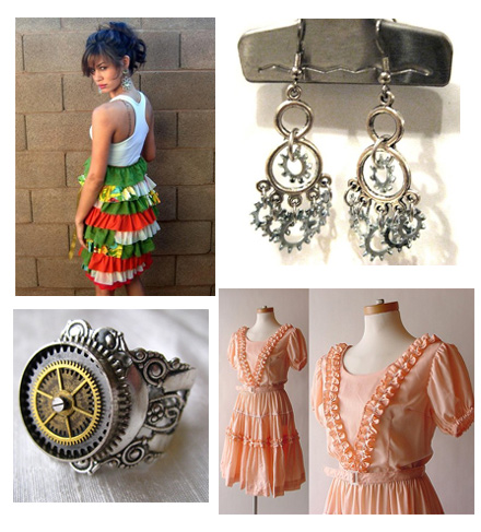 Etsy Finds - Ruffles and Gears