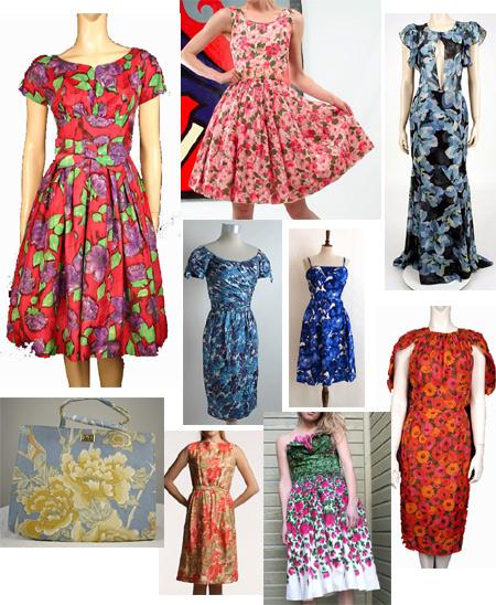 Floral Vintage Dresses