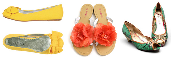Bright Summer Shoes