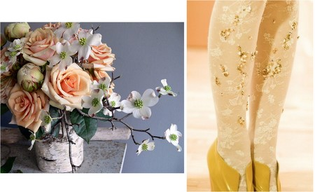 DIY Ideas: Birch vases and jewel-embroidered tights | PopBetty
