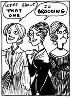 Kate Beaton on the Brontes