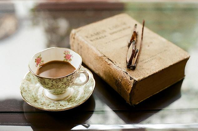 Literary Still Life by Cheryl Raharjo