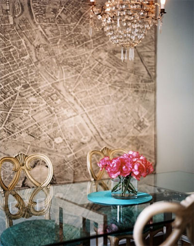Wall Map Inspiration