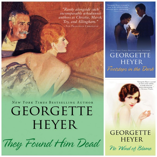 Georgette Heyer Sourcebooks Reprints (2)