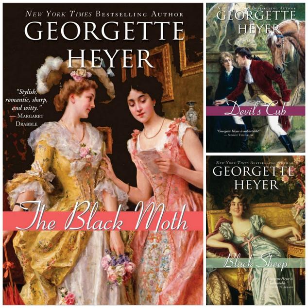Georgette Heyer Sourcebooks Reprints