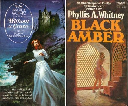 Old-Fashioned Gothic Romance Covers