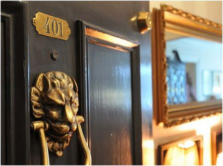 Reid House in Atlanta: Door Knocker