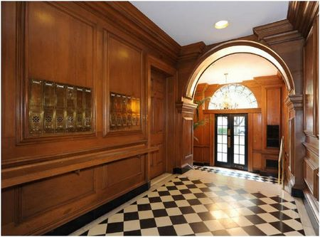 Reid House in Atlanta: Entry Hall