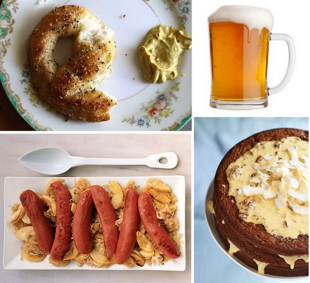 Oktoberfest Inspiration from Joy the Baker, Epicurious, and Design Sponge
