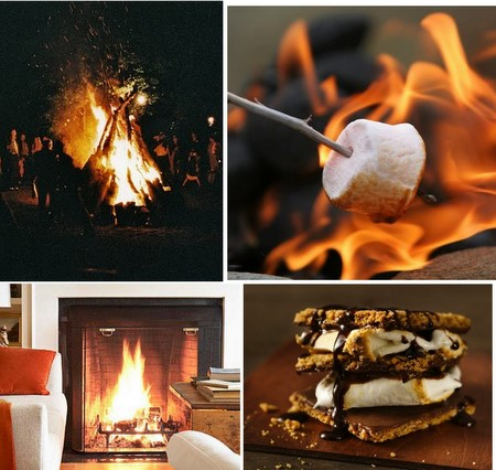 PopBetty Fall Inspiration - Bonfires and Smores