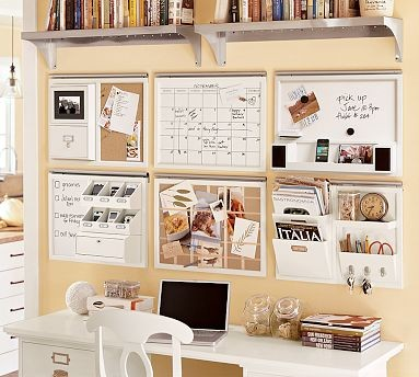 Pottery Barn Home Office Wall Organizers