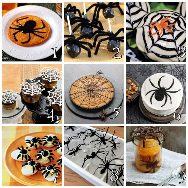 Halloween Spider Party - Food