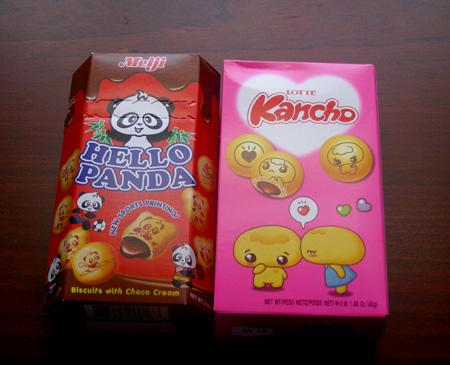 lotte kancho hello panda boxes