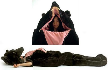 Eiko Ishizawa bear sleeping bag