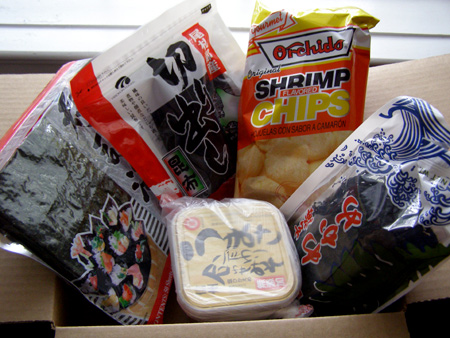 asian food grocer miso seaweed
