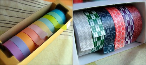 washi tape from happy tape