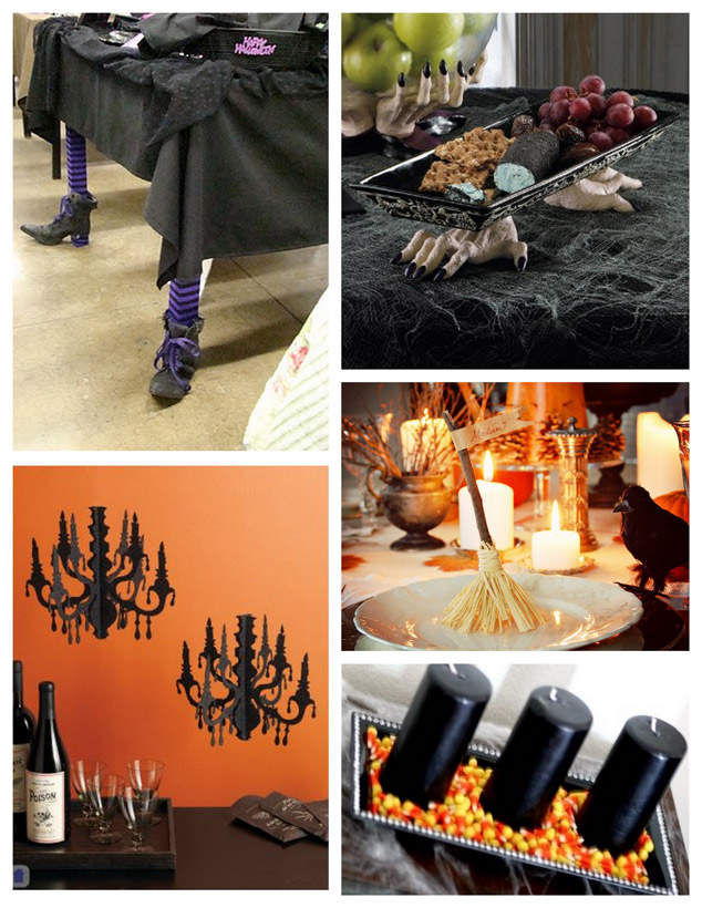 Witch Party Table Setting Ideas | PopBetty