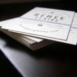 Minted.com Business Card PopBetty closeup
