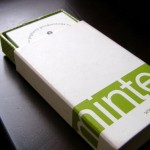 Minted.com Business Card review, complimentary box, via PopBetty